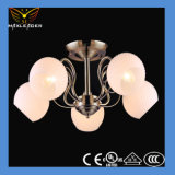 Moderne weiße Glasdecken-Lampe des heißen Verkaufs-2014 (MX91808)