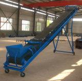 Transportador de correa de goma modificado para requisitos particulares para el transporte del polvo