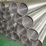 Manufactura de acero inoxidable 316L Johnson Tipo de filtro de las tuberías de la pantalla