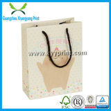 Embalagem de saco de papel personalizado com logotipo impresso