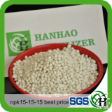 Fertilizzante di prezzi bassi NPK 15-15-15 dal fornitore cinese