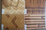 Aço pre pintado da grão de madeira (ES030)