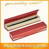 Rectángulo de papel de la joyería de la cartulina del collar del rectángulo (BLF-GB080)