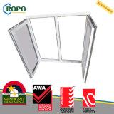Girata standard Windows di inclinazione di vetratura doppia UPVC dell'Australia