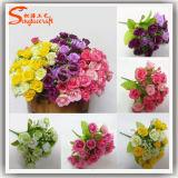 Alta Imitação Decoração para casa Plantas artificiais Flor de seda artificial