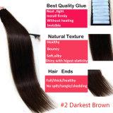 #2 vendem por atacado a fita do cabelo humano em extensões do cabelo