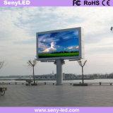 Écran de publicité visuel polychrome extérieur de l'usine DEL de Shenzhen