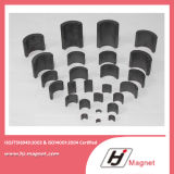 Дуга постоянный магнит NdFeB высокого качества изготовленный на заказ/неодимия для моторов