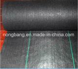 Cobertura de polipropileno de poliéster de plástico preto
