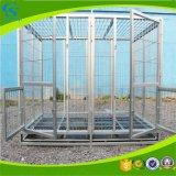 Cages extérieures matérielles de crabot d'acier inoxydable de force