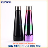Völlig auf Lagere unterschiedliche Farben-Spray-Trinkwasser-Edelstahl-Flaschenkapsel