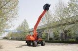 Excavador hidráulico excavador de la rueda de Hydyaulic de 13 toneladas