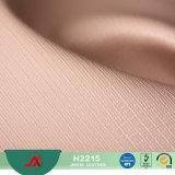 Cuoio sintetico del PVC di nuovo modo di arrivo per il tessuto d'imitazione del cuoio sintetico del sacchetto chiave per il sacchetto