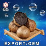 Soem-guter Geschmack gegorener abgezogener einzelner schwarzer Knoblauch (2kg/bag)