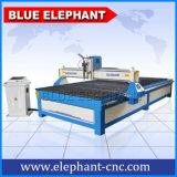 Cortador de alumínio do plasma do CNC do CNC da folha, máquina de estaca do plasma do CNC feita em China