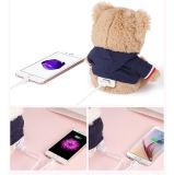 Chargeur portatif créateur mignon de chargeur de batterie de côté de pouvoir de carton pour le smartphone