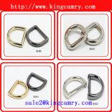 Цинк Diecast кольцом d вспомогательного оборудования оборудования сумки звенит D-Ring сплава цинка кольца металла для одежды, мешков и кольца мешка ботинок