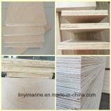 Classe da madeira compensada 15mm C/D do núcleo do Poplar da madeira compensada do vidoeiro