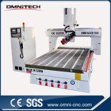 Mittellinien-Holzbearbeitung CNC-Fräser China-4 mit Cer