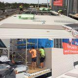 Feuille de toit en PVC anti-corrosion petite vague