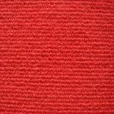 Moquette rossa non tessuta di mostra della striscia