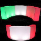 LED Snake Bar Luminous Round Bar LED Wine Display