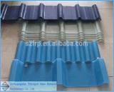 ガラス繊維の天窓の屋根のパネルFRPの半透明な屋根ふきは透過ガラス繊維のシートによって波形を付けられるガラス繊維シートの天窓によって波形を付けられる屋根のパネルFRPシートを広げる