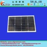 긍정적인 공차를 가진 40W 단청 태양 전지판