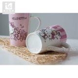 Bonjour tasse de café 14oz en céramique de la Chine de modèle drôle de Kitty