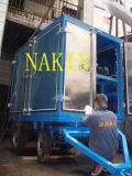 Tipo móvil máquina del acoplado del purificador del aceite aislador