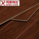 Suelo de madera verdadero registrado del laminado de la textura (AS6014)