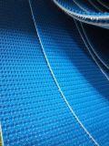 Cinto transportador de PVC superior de 5,5 mm em verde / azul Cor Cinto de PVC