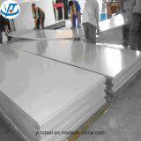 Ba, PVC del final del espejo que cubre la hoja de acero inoxidable 316L