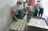 Baozi Bao Pau Bau Pow stoomde Gevuld Broodje Makend Machine