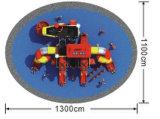 Strumentazione esterna HD-071A del gioco dei piccoli capretti dei campi da giuoco
