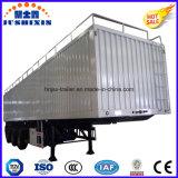 Vendedor caliente 3 BPW Eje 13 metros de carga a granel Remolque / carbón Carrier Utilidad Van / Caja Tipo de servicio pesado del carro del tractor con el precio directo de fábrica