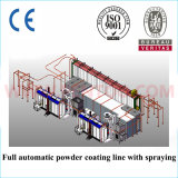 Alto Efficiency Automatic Powder Coating Booth per Color Changing