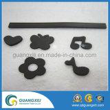 ゴム製磁気として適用範囲が広いシートの磁石