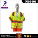 Высокая куртка движения безопасности видимости