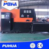Máquina automatizada del sacador de orificio del metal de hoja de la torreta del CNC