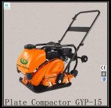 Compacteur vibratoire Gyp-15 de plaque d'essence de machine de construction