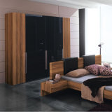 Solide Wooden Wardrobe para a sala de visitas Furniture de The com cacifo