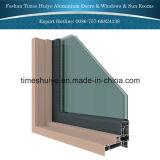 Fabricante de aluminio de la puerta con la intervención del TUV