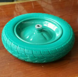 roda livre lisa do carrinho de mão de roda do relvado 16X4.80/4.00-8