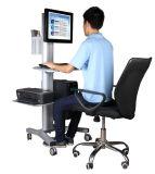 """Video della stazione di lavoro del calcolatore mobile singolo registrazione di altezza di 10-24 """" (PCM 1201)"""
