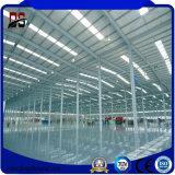 I progetti della costruzione di edifici del metallo hanno fabbricato la struttura d'acciaio