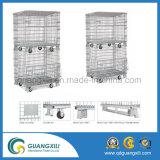 Стальной контейнер сетки оборудования хранения 800*600*640