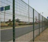 Nyloforのパネルの鉄条網か、または溶接されたパネルの塀