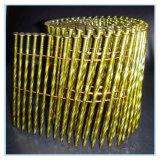 Chiodo torto della bobina della tibia placcato zinco giallo di alta qualità