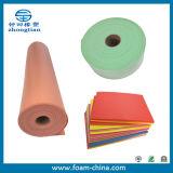 Feuilles de mousse PE colorés et les rouleaux avec Certificat ISO (XPE IXPE LDPE PEE de PEF))